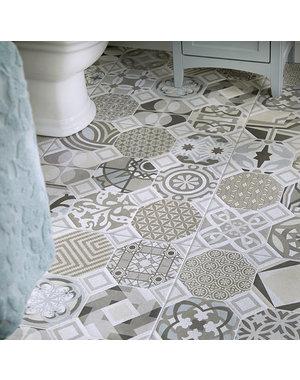 Luxury Tiles Cambria Vintage Floor & Wall Tile 600x600mm