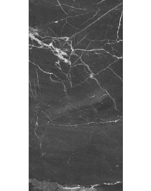Luxury Tiles Nero Marquina Marble Effect 30x60cm Tile