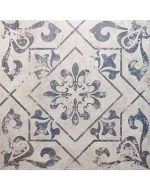 Luxury Tiles Winston Blue Pattern Ceramic Floor Tile