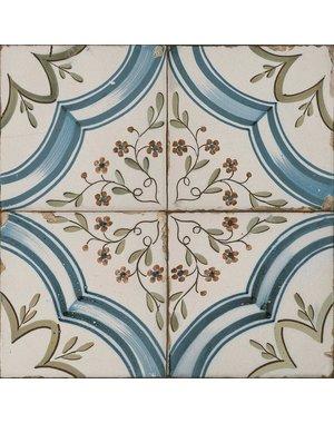 Luxury Tiles Vintage Marina Pattern Ceramic Floor Tile