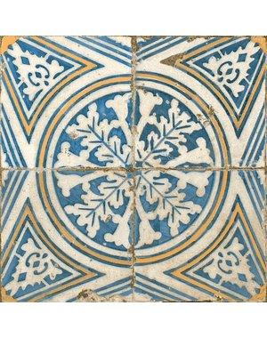 Luxury Tiles Maldives Blue Pattern Ceramic Floor Tile
