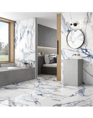 Luxury Tiles Aleotti Royal Blue Marble Effect 120x60cm Tile