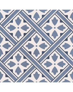 Laura Ashley Laura Ashley Mr Jones Midnight Floor Tile 33x33cm