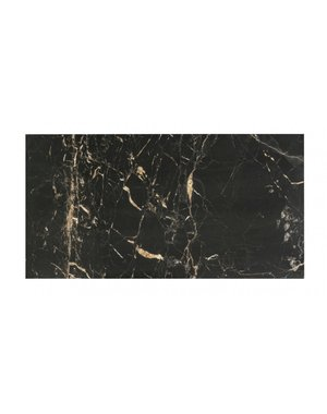 Luxury Tiles Gold Creama & Jet Black Marble Effect 60x30cm Wall Tile