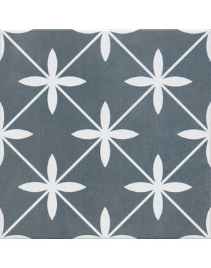 Laura Ashley Wicker Charcoal Floor and Wall Tile 33x33cm