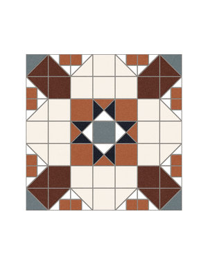 Luxury Tiles Dorset Counties 31x31cm Floor Tile