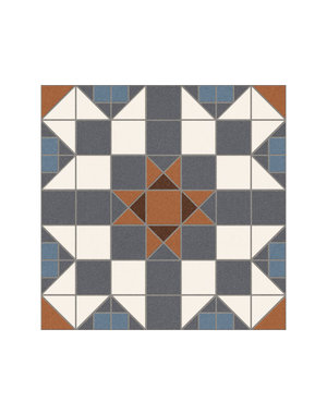 Luxury Tiles Dorset Marron 31x31cm Floor Tile