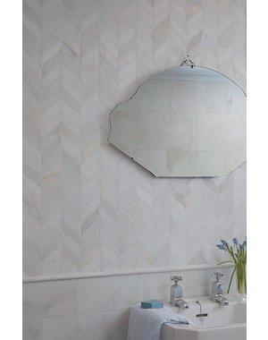 Luxury Tiles Leaf Marble Mosaic Honed Wall & Floor Tile