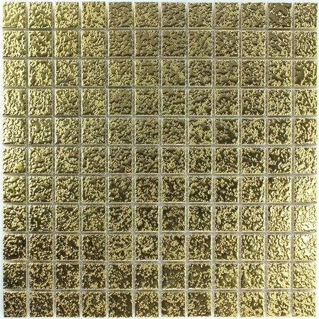 Luxury Tiles Gold Ceramic Magnolia Mosaic Tile