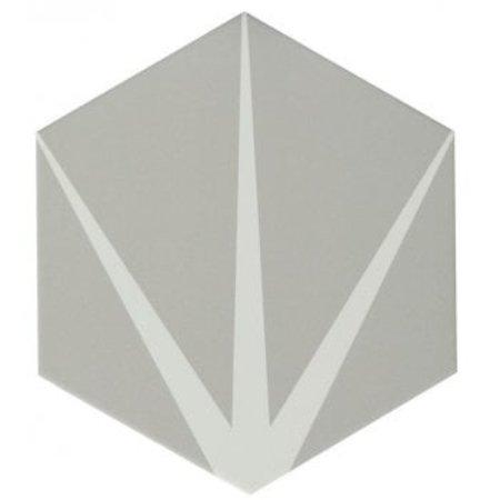 Ca' Pietra Lilypad - Cloud Grey  Wall Tile