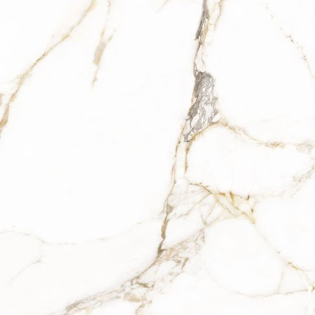 Luxury Tiles Golden Marble Effect XL 80x80cm Polished Wall and Floor Tile