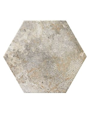 Luxury Tiles Angolan Hexagon Rustic Tile