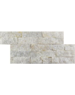 Luxury Tiles Glacier White Split Face Riven Slate Tile