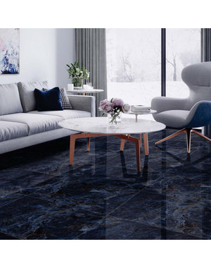 Luxury Tiles Luxury Venetian Blue Floor and wall Tile 60x60cm