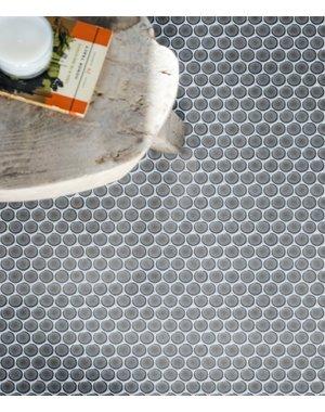 Ca' Pietra Ca Pietra Statement Yoga Penny Porcelain Mosaic Tempest 33x31cm