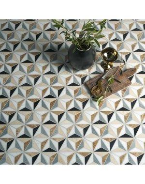 Ca' Pietra Ca' Pietra Istanbul Honed Mosaic Marble