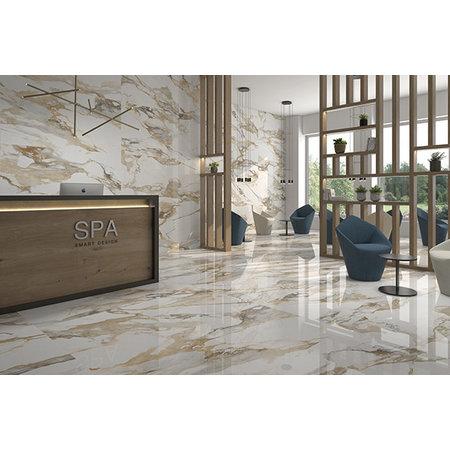 Luxury Tiles Golden Marble Effect 1200x600mm Tile