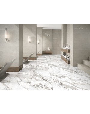 Luxury Tiles Natural Calacatta Marble Effect Porcelain 600x1200mm Tile