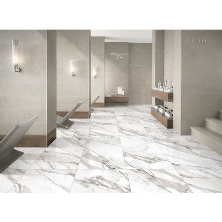 Luxury Tiles Natural Calacatta Marble Effect Polished Porcelain 60x120cm Wall and Floor Tile