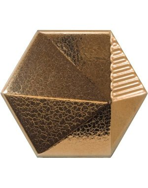Luxury Tiles 3D Gold Honeycomb Hexagon Tile