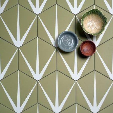 Ca' Pietra Ca' Pietra  Lily Pad New Leaf Porcelain Tile
