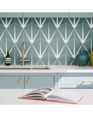 Ca' Pietra Lily Pad Eucalyptus Porcelain Tile
