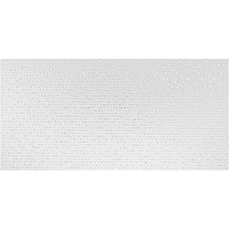 studio conran RAN00736 Trace Tiles by Studio Conran Linea Point Decor White Matt 248mm x 498mm