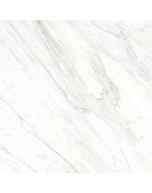 Luxury Tiles Blanco White Marble Effect Tile 45x45cm