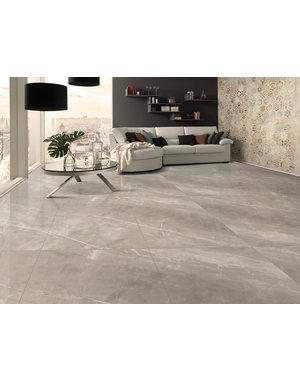 Luxury Tiles Posh Smoke Polished 60x120cm Tile