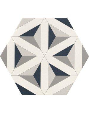 Luxury Tiles Hexagon Star Pattern Tile