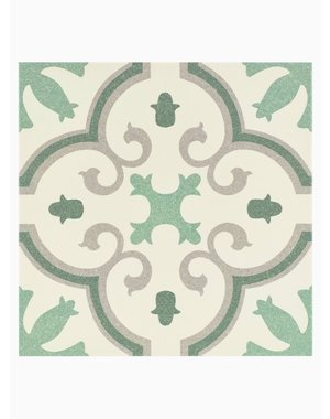 Luxury Tiles Wiltshire Green Pattern Floor and Wall Tile