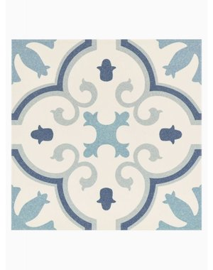 Luxury Tiles Wiltshire Blue Pattern Floor and Wall Tile