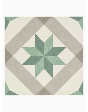 Luxury Tiles Yorkshire Green Pattern Floor and Wall Tile