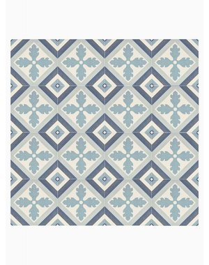 Luxury Tiles Lincolnshire Blue Pattern Floor and Wall Tile