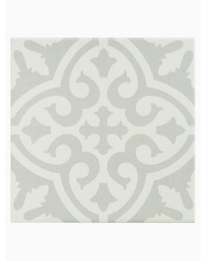 Luxury Tiles Victorian Soft Grey Pattern Tile