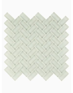 Luxury Tiles Isodore Cloud Grey Herringbone Mosaic Tile