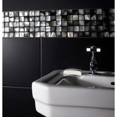British Ceramic Tiles British Ceramic Tile Mosaic shell multicoloured gloss tile BCT38566