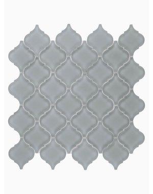 Luxury Tiles Isodore Storm Grey Drops Mosaic Tile