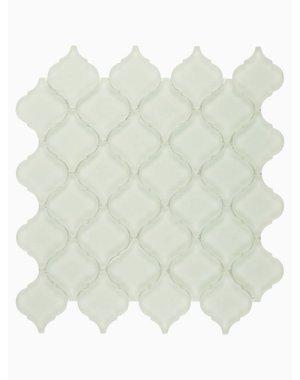 Luxury Tiles Isodore Cloud Grey Drops Mosaic Tile