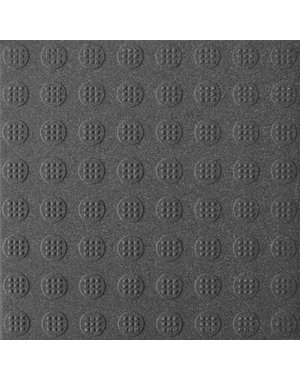 Luxury Tiles Commercial Circular Stud Grey Anti-Slip Floor Tile