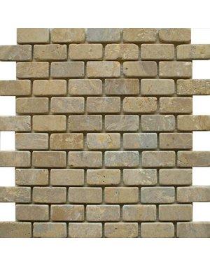 Luxury Tiles Farm House Beige Brick Mosaic