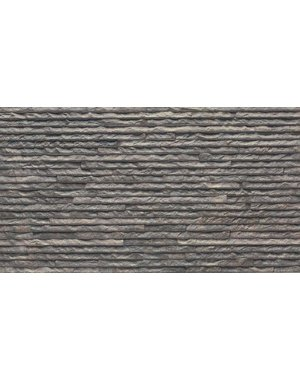 Luxury Tiles Wave Decor Graphite Split Face Tile