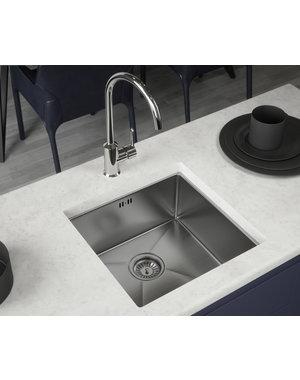 Elite Elite Single Bowl Steel Kitchen Sink
