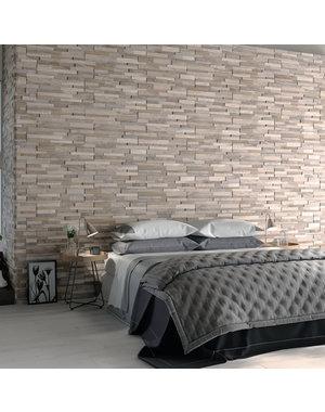 Luxury Tiles Timber Brown Split Face Porcelain Tile