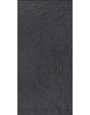 Luxury Tiles Cyprus Black Slate 600x300mm Tile