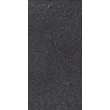 Luxury Tiles Cyprus Black Slate 60x30cm Floor and Wall Tile