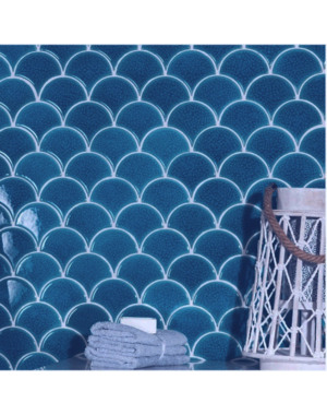 Luxury Tiles Drops Persian Blue