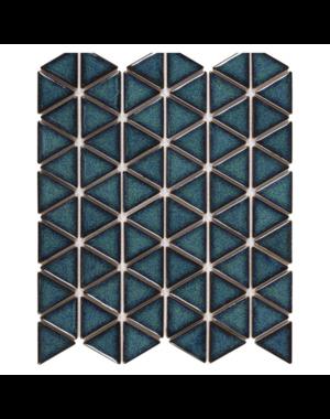 Luxury Tiles Geometric Triangle Green