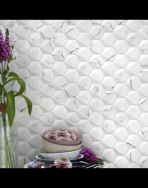 Luxury Tiles Marble Hexagon Mosaic Tile