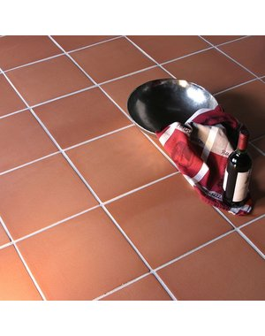 Luxury Tiles Traditional Red Corner Edge Quarry Tiles